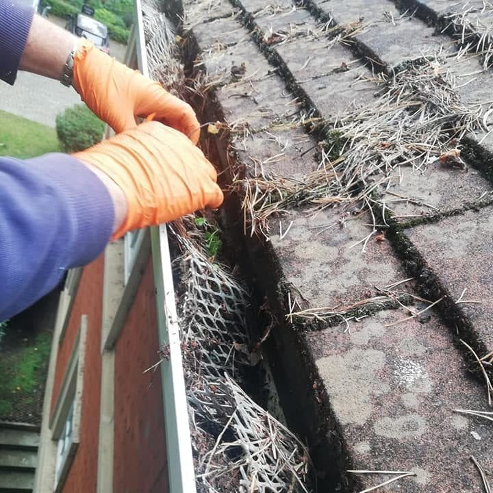 Gutter cleaning service in Meath we clean your house