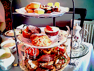 Afternoon Tea Menu August; No Booking Required
