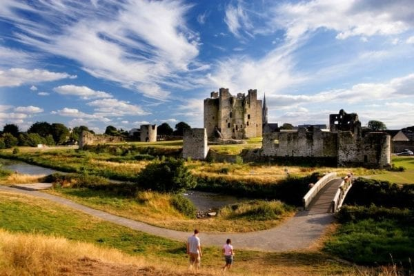 Trim Castle sightseeing Meath Ireland The Old Rectory B&B Trim