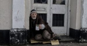 Homeless man in need of help