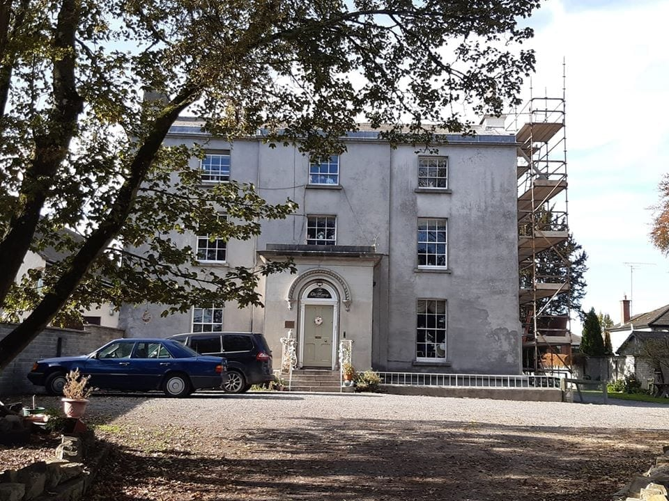 Front of house the old rectory trim 2019