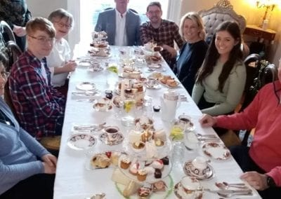 Family gathering Party afternoon tea trim co meath