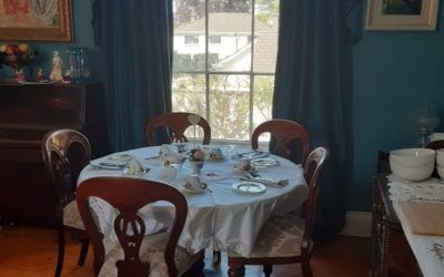 Dinner Party in our Historic Home