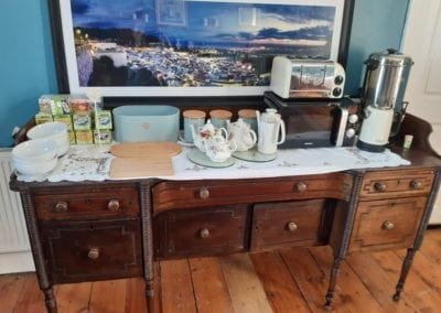 breakfast bar for continental breakfast vintage style old rectory trim meath