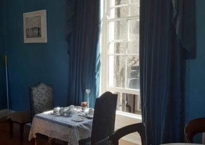 table for two in our tearoom the old rectory trim meath