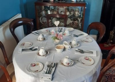 wedding breakfast ideas for bridal party the old rectory trim meath