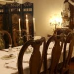 old rectory dinner party