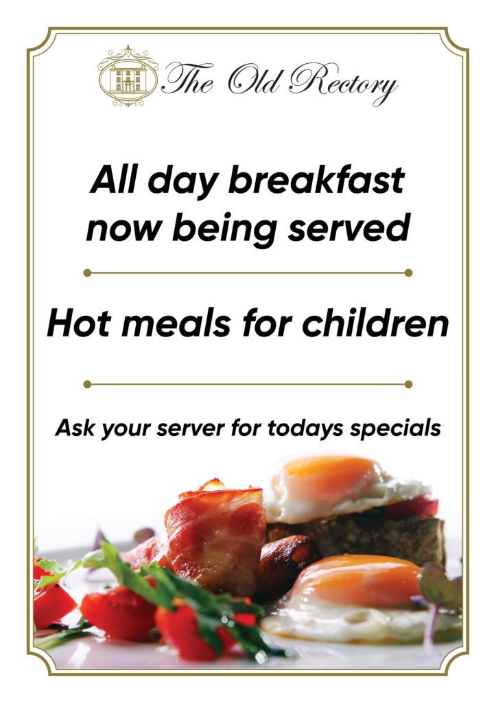 All day breakfast now being served,theold recory trim, boynevalley