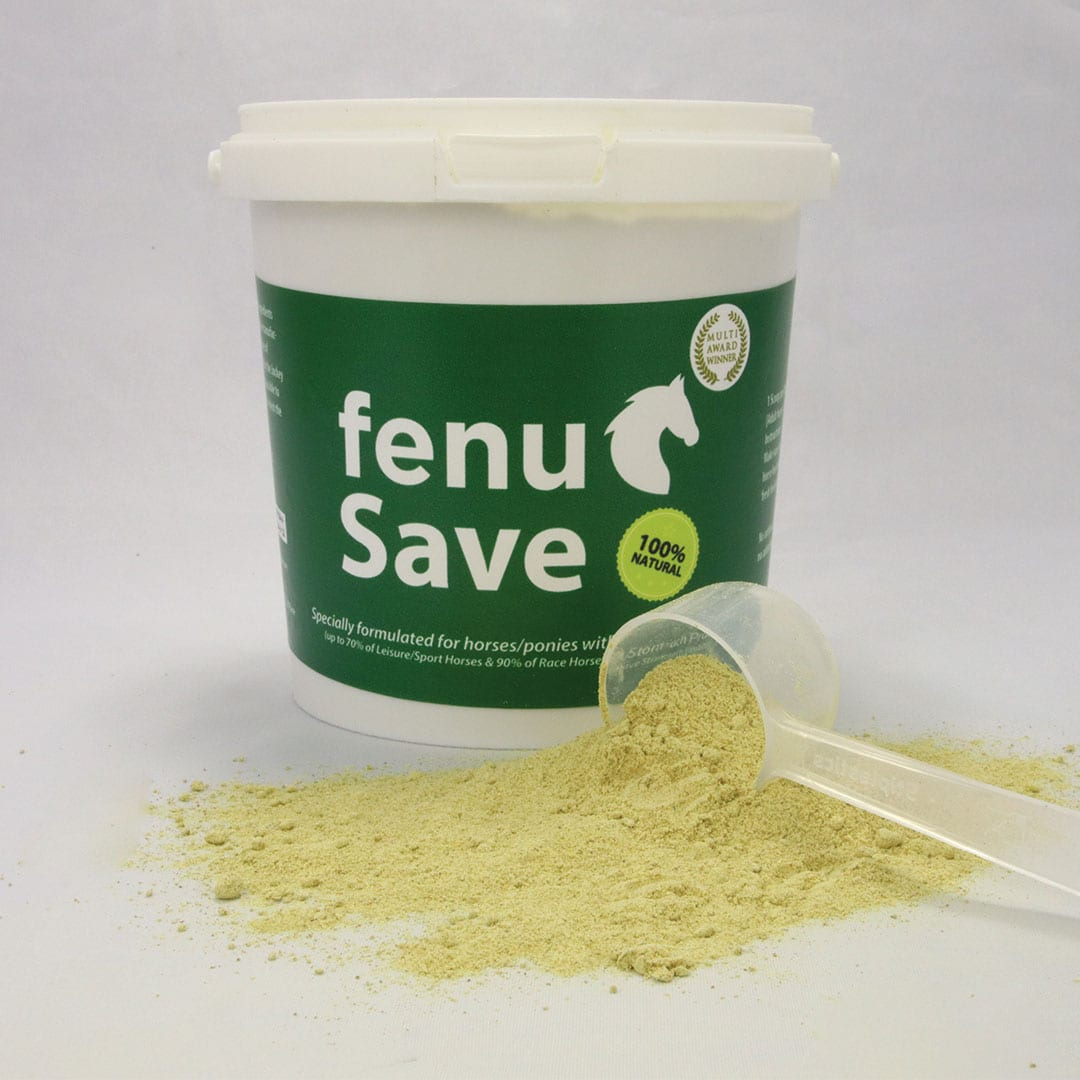FenuSave for healthy gut in horses to heal stomach ulcers naturally