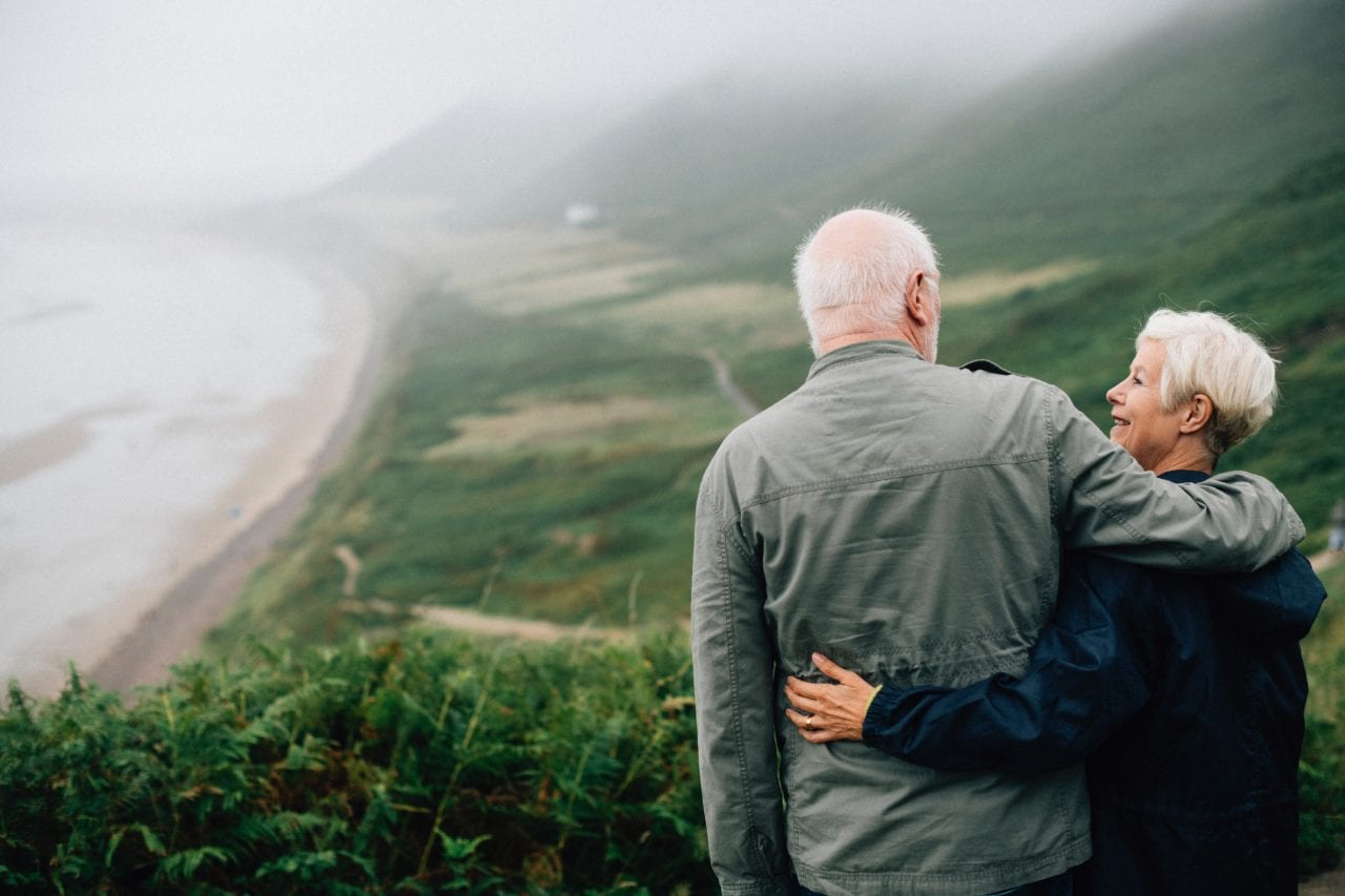 old couple retirement and future planning