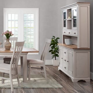 Kitchen dresser and table - Connie Leonard furniture and flooring