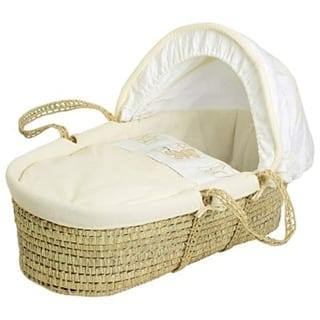 Moses Baskets Connie Leonard Baby cot for sleeping at the side of bed - Connie Leonard furniture and flooring