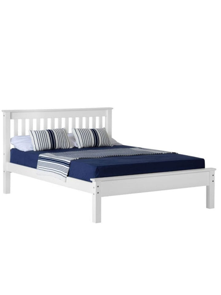 Double bed and mattress special offer Connie Leonard furniture and flooring