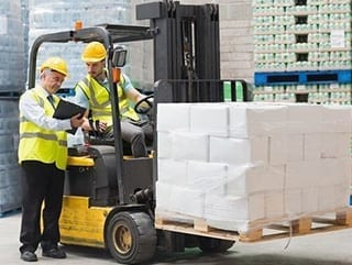 refresher forklift training course construction worker in forklift training