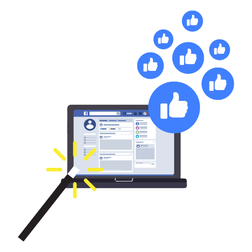 Social Media Enhancement and seo services Magic wand making Facebook profile better