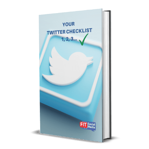 resources for social media checklists Twitter Ebook FIT Social Media Eimer Duffy