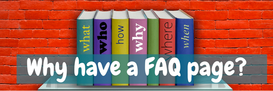 Frequently Asked Questions Image of books