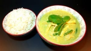 chicken curry green once upon a thai