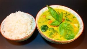 vegan yellow curry once upon a thai