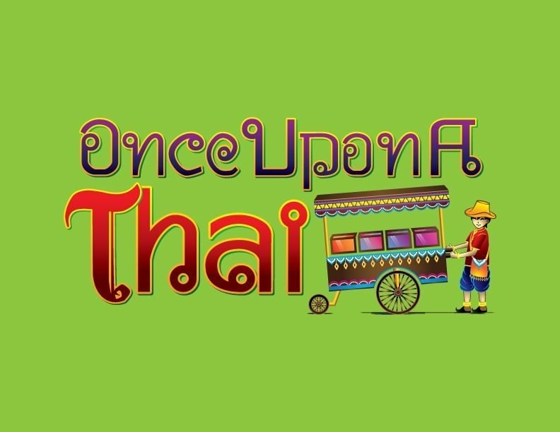 once upon a thai logo