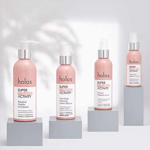 Holos Skincare PR Showcase Gilleece Communications