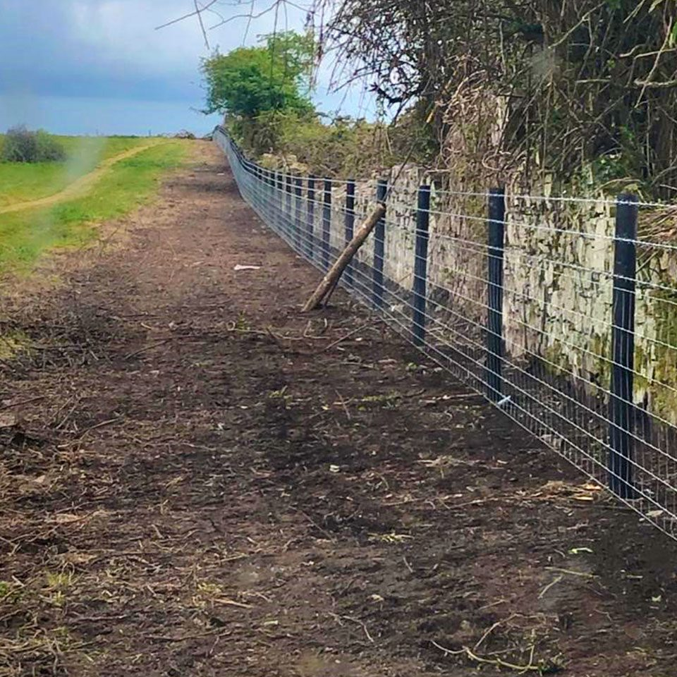 plastic-fence-post-with-barbed-wire-for-livestock-farms
