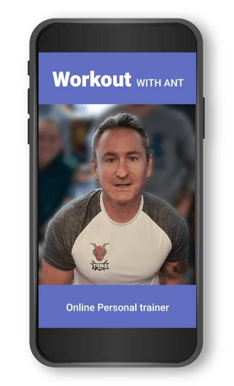 smartphone workout with ant online ant morgan health coach