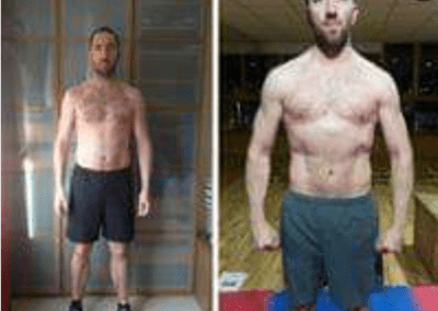 transformation photo personal trainer ant morgan health coach