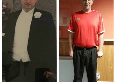 transformation photo ant morgan before and after
