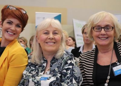 Women at event Dublin NWED Now Media