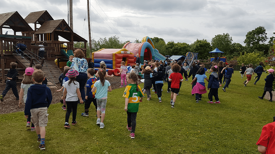 Bouncy Castle Fun Family Days Out at Mellowes Adventure Centre Athboy