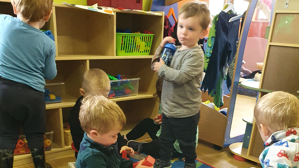 Child Playing Toys Children Creche and Childcare Tours at Mellowes Adventure Centre Athboy