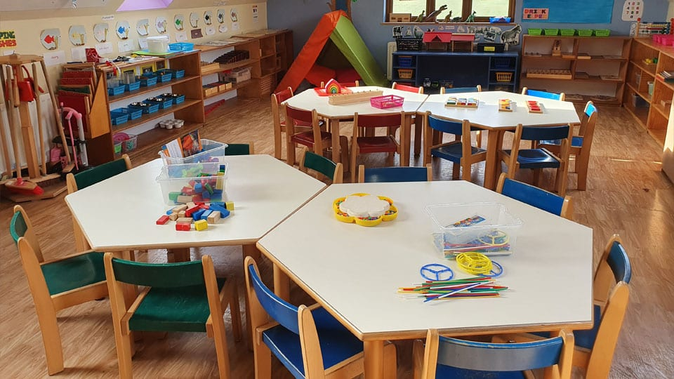 Mellowes EECE Year One Room High Quality Adventure Centre